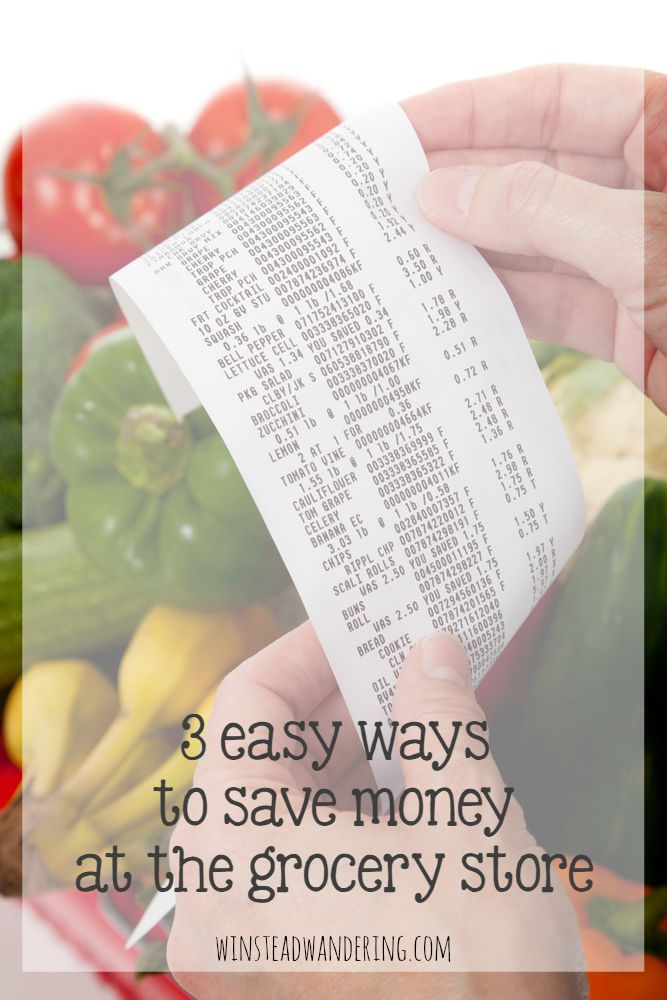 You don't have to clip coupons to reduce your grocery bill. These 3 easy ways to save money at the grocery store really are simple, and the savings adds up surprisingly fast.