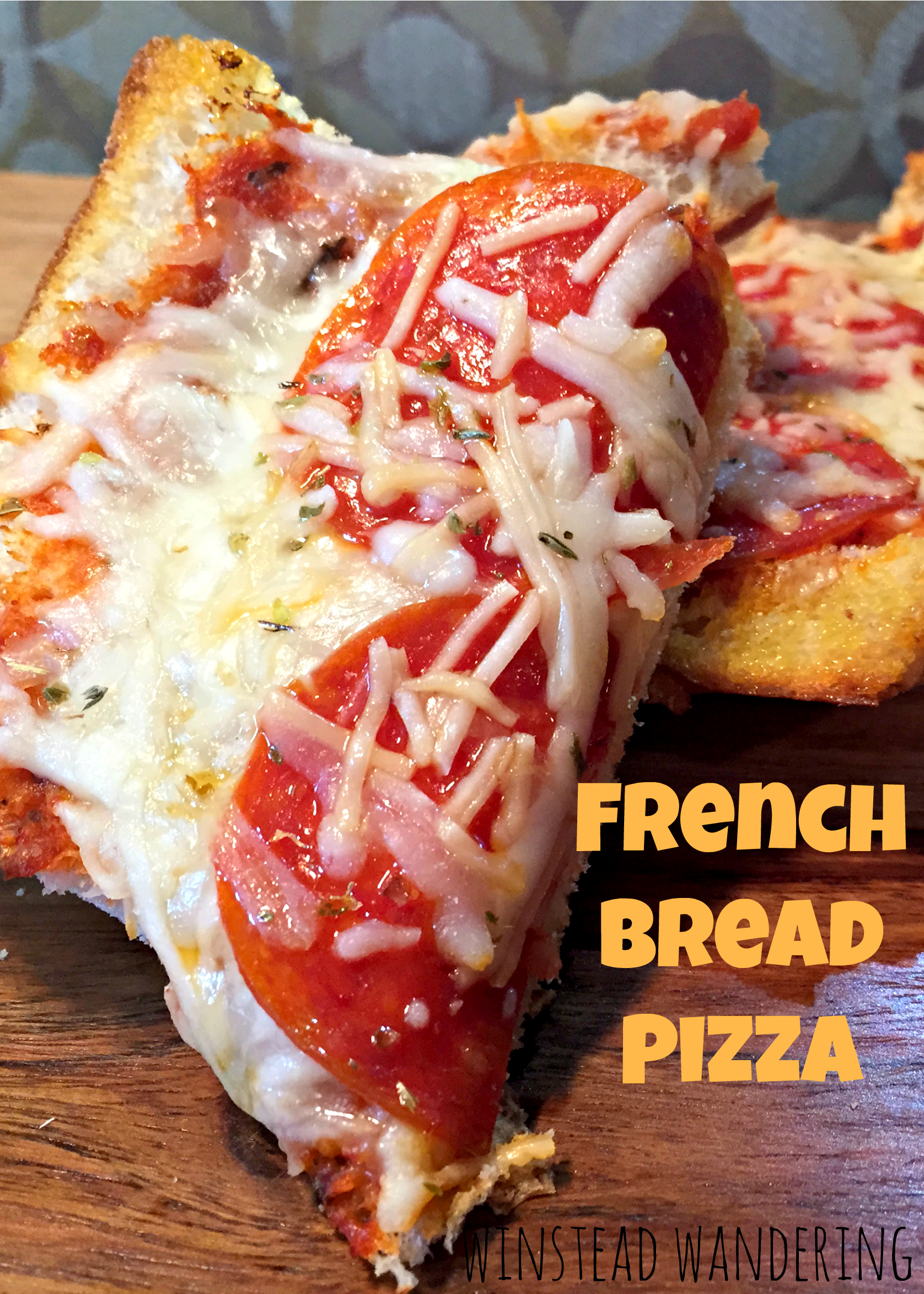 This pizza is the easiest meal you'll ever make. You can use whatever toppings you want and use $1 bread from Walmart. You can't beat cheap and tasty! | winstead wandering