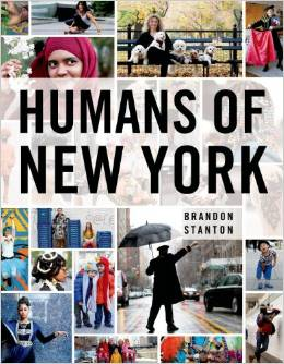The Humans of New York Facebook page in book form. This book should be on every coffee table in America | winstead wandering