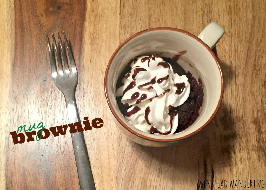 the mug brownie recipe to beat all mug brownie recipes. No dry, flavorless gunk here. The results are moist, rich, and satisfying | winstead wandering