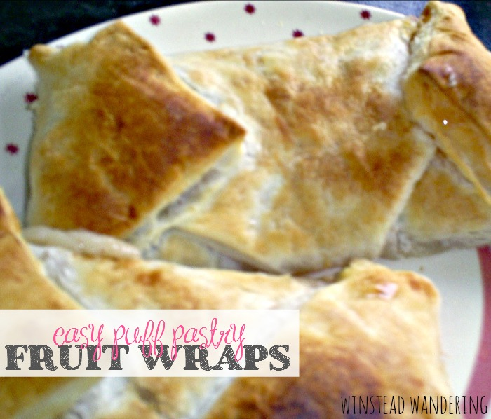 These easy puff pastry fruit wraps offer the perfect fluffy crunch and can be customized with whatever fresh or canned fruit you have on hand.