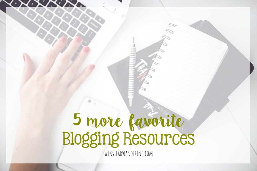 5 favorite blogging resources to help busy bloggers- and who isn't?- be as efficient and organized as possible. I bet you haven't heard of some of these.