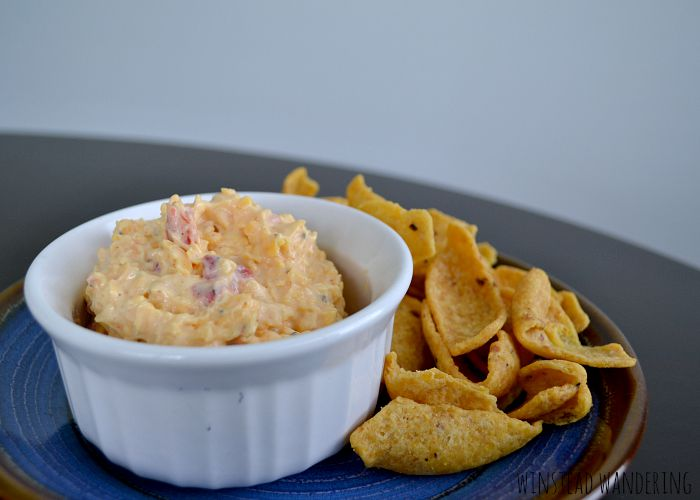 This stuff is called the caviar of The South. Pimento cheese is super easy to make, full of flavor, and would be the perfect addition to your game day feast.