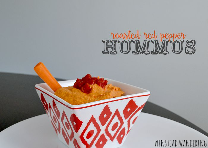 Roasted red pepper hummus, packed with nutrition and flavor, is surprisingly easy to make at home.