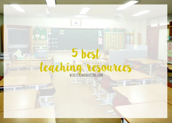 5 resources to help you be a rockstar in the classroom.