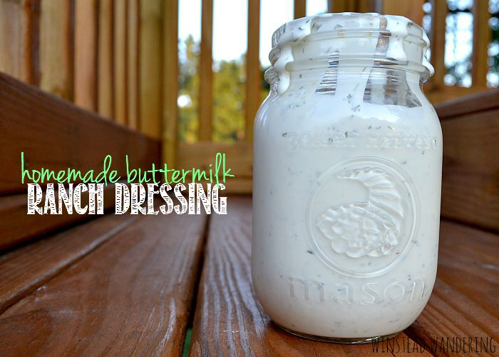homemade buttermilk ranch dressing8