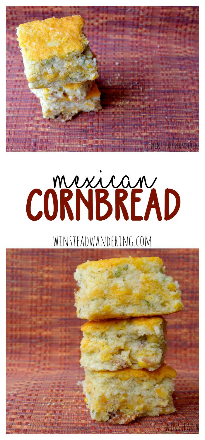 Not your grandma's pasty cornbread, Mexican cornbread is stuffed with bacon, jalapeños, corn and, of course, plenty of cheese. It's light and spicy and the perfect side to just about anything you serve.