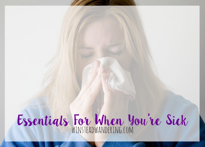 Not feeling well sucks, but there are a few products out there that can, literally, help ease your pain. Here are some essentials for when you're sick.