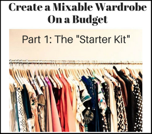 mixable wardrobe on a budget part 1