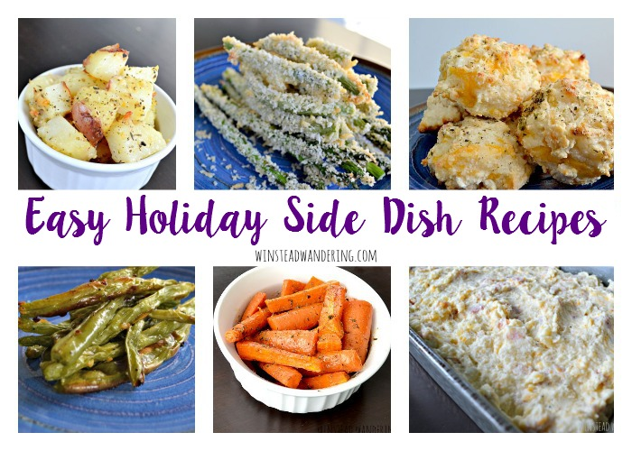 It's totally possible to keep your stress level under control and still create a delicious meal. Here are seven easy holiday side dish recipes to help you do just that.