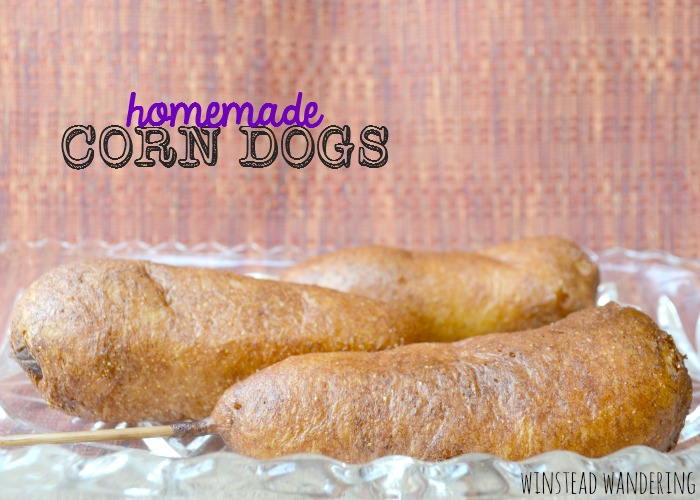 Homemade corn dogs are easier than they look and, with their crunchy-yet-fluffy exterior, they're delicious, too.