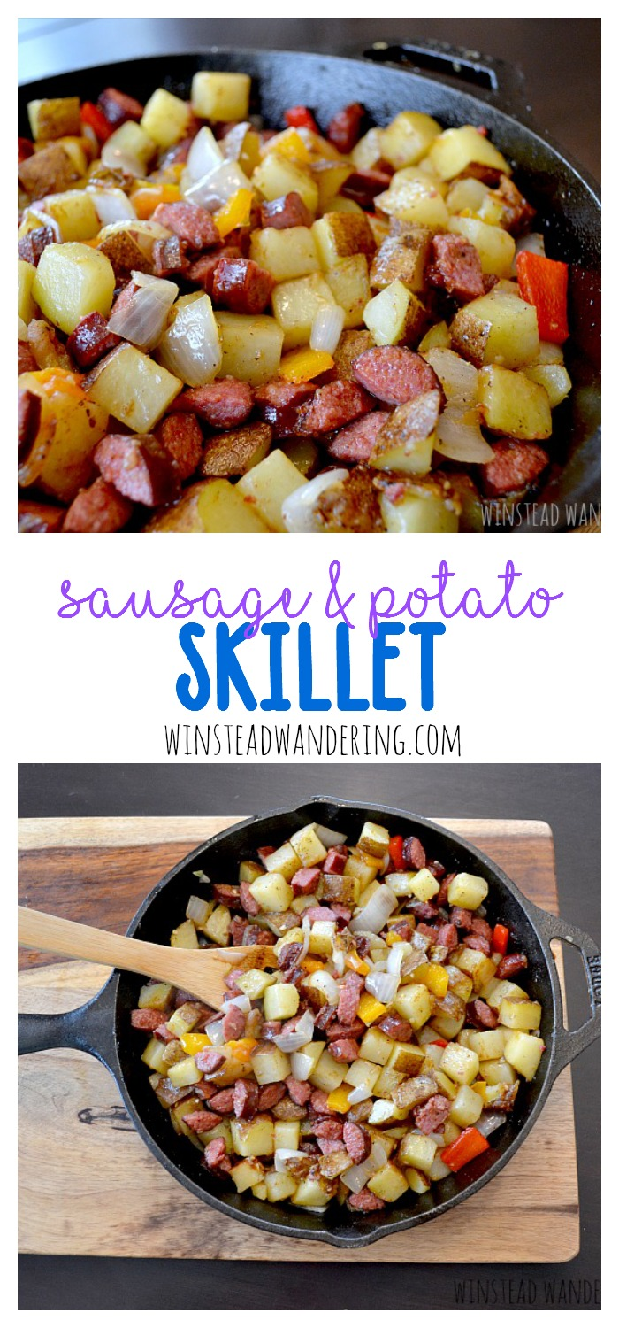 Hearty sausage and potatoes come together with the vegetables of your choice to make an easy, crowd-pleasing weeknight meal. Plus, you've got to check out the mouthwatering breakfast-for-dinner recipe you can make with this leftover sausage and potato skillet.