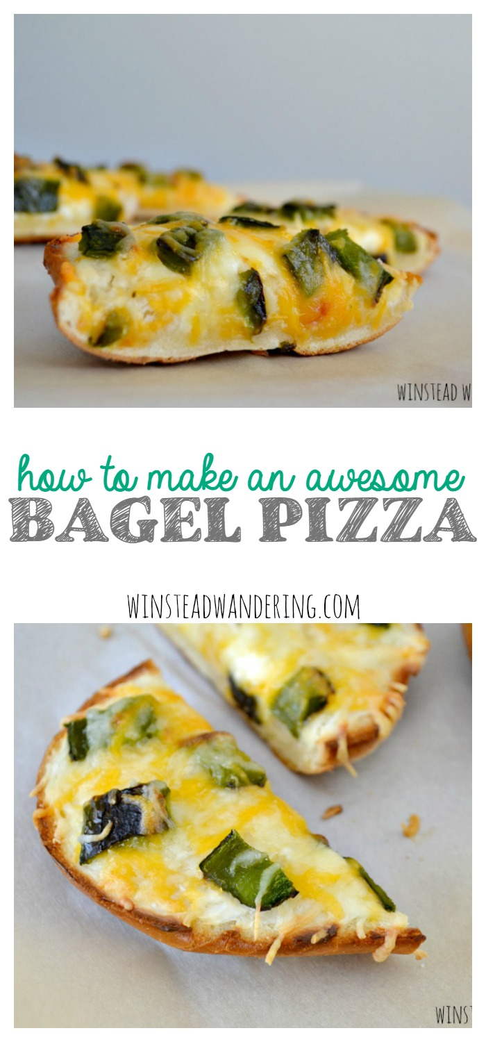Bagels aren't just for breakfast anymore. They're the perfect way to re-purpose leftovers and they please even the pickiest eaters. Here's how to make an awesome bagel pizza.