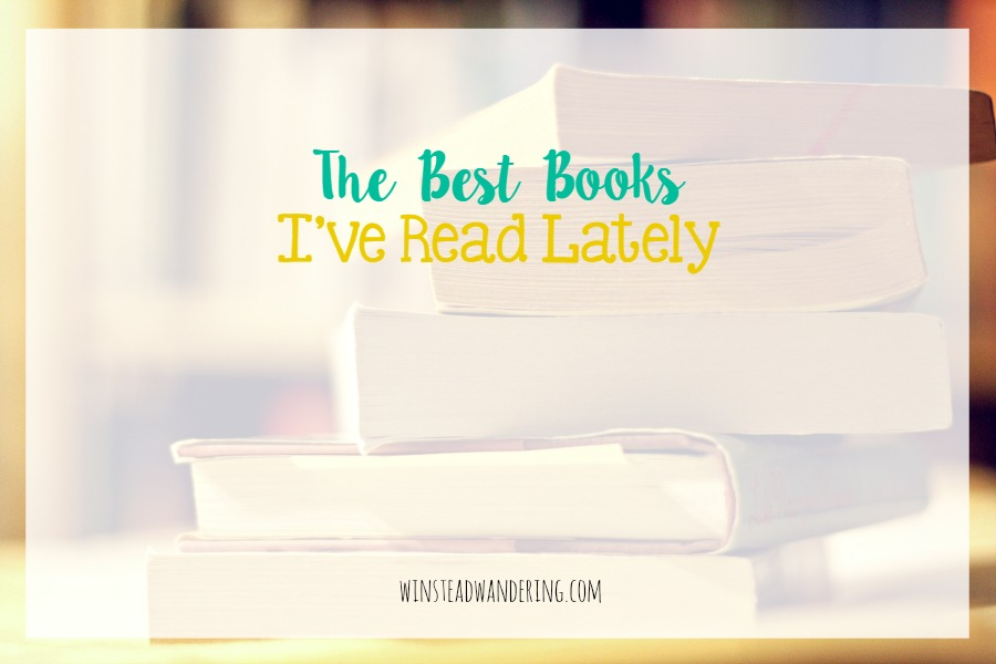 Looking for the next must-read? Check out the best books I've read lately.