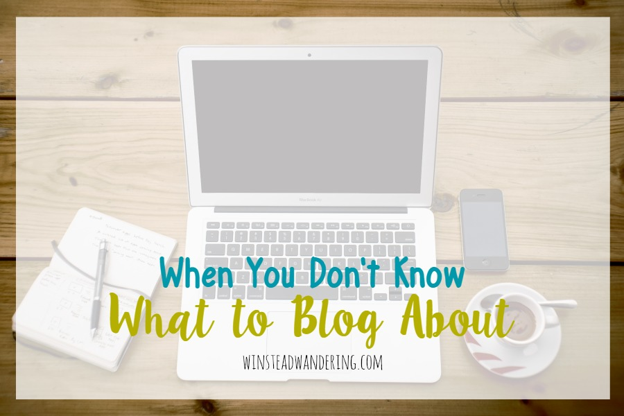 What do you do when you don't know what to blog about? Here are five easy post ideas to fall back on when blogger's block strikes.