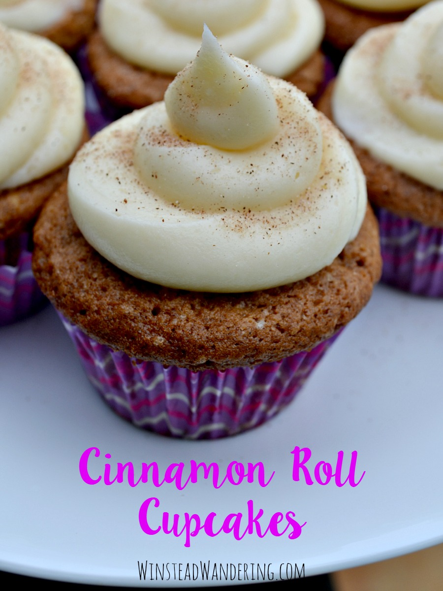 Bringing all the classic flavors without the time or effort of making real dough, cinnamon roll cupcakes are the perfect rich, decadent addition to any celebration.