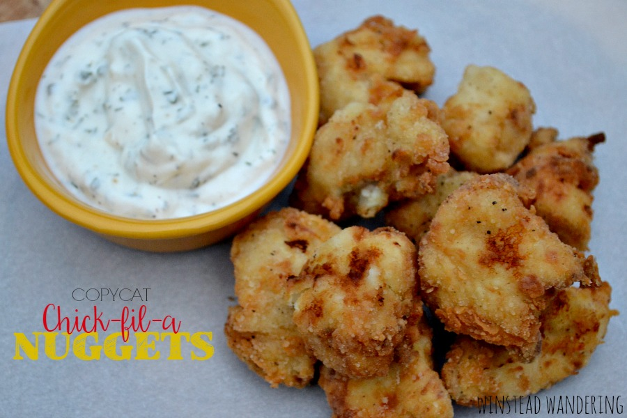 A surprising secret ingredient makes these copycat Chick-fil-a nuggets a tender, mouthwatering substitute for the real thing.