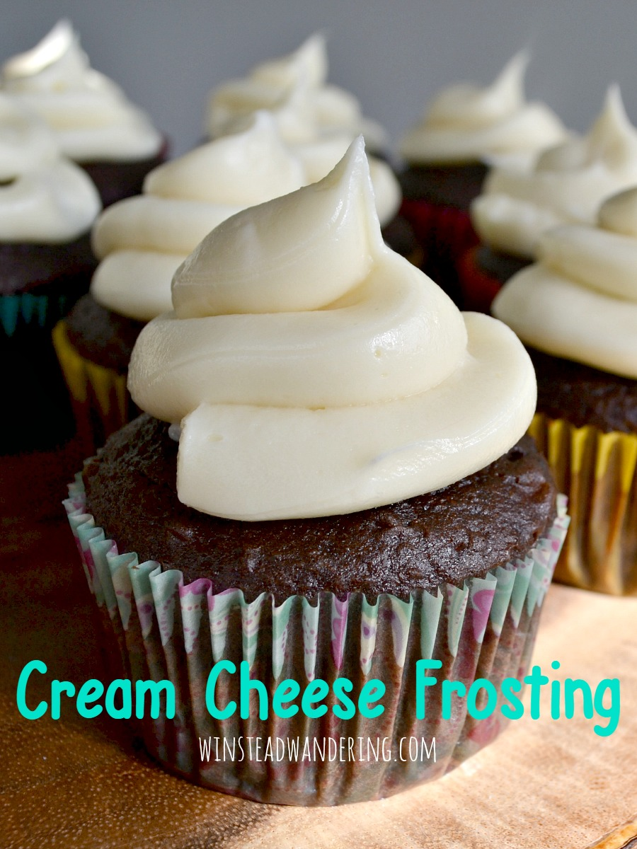 This stuff is rich, creamy, sweet, and smooth- it's everything you expect a decadent cream cheese frosting to be.