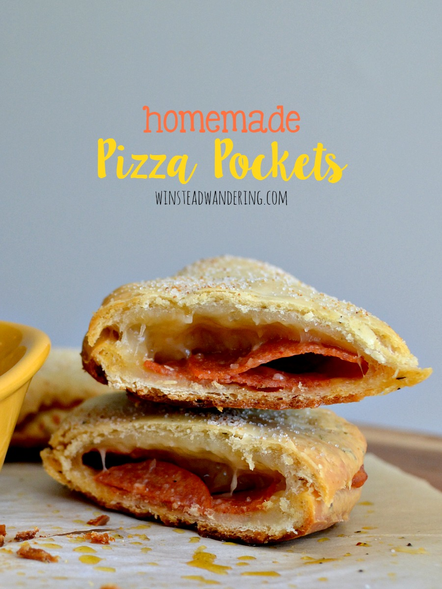 No cooking sleeve required: these homemade pizza pockets are nothing but fresh, seasoned dough, filled with your favorite meats, vegetables, and cheeses. And they're freezer-friendly!