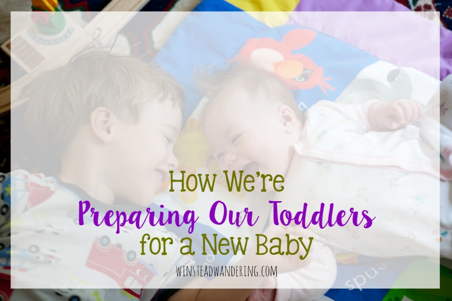 How we're preparing our toddlers for a new baby: all our best tips and tricks and making a smooth transition to life with a newborn.