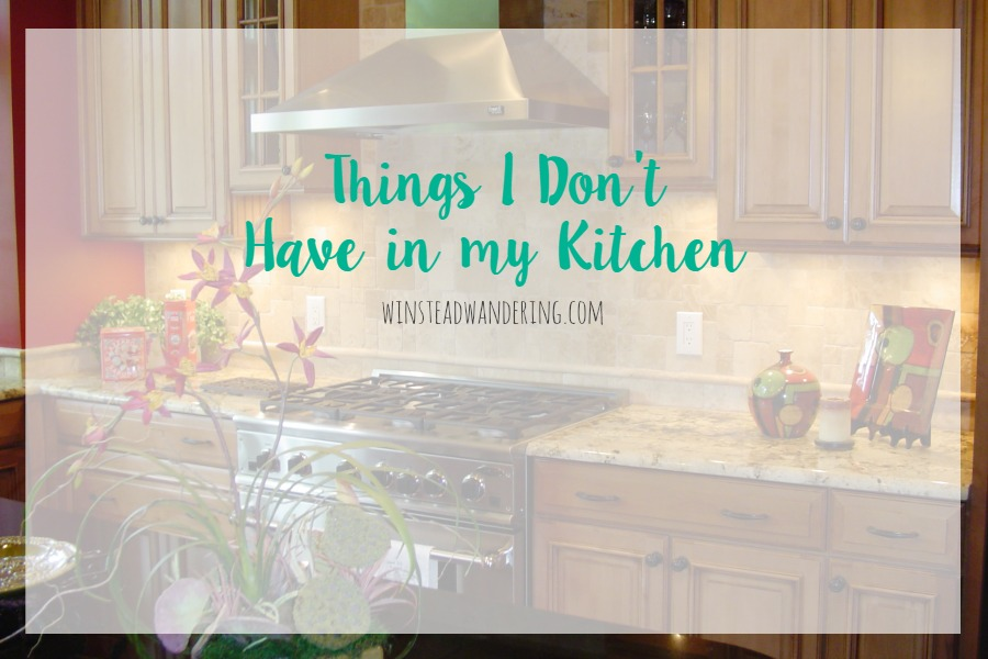 Don't buy into what the Internet tells you need to have to be a good cook. As a food blogger, you might be surprised by the things I don't have in my kitchen.