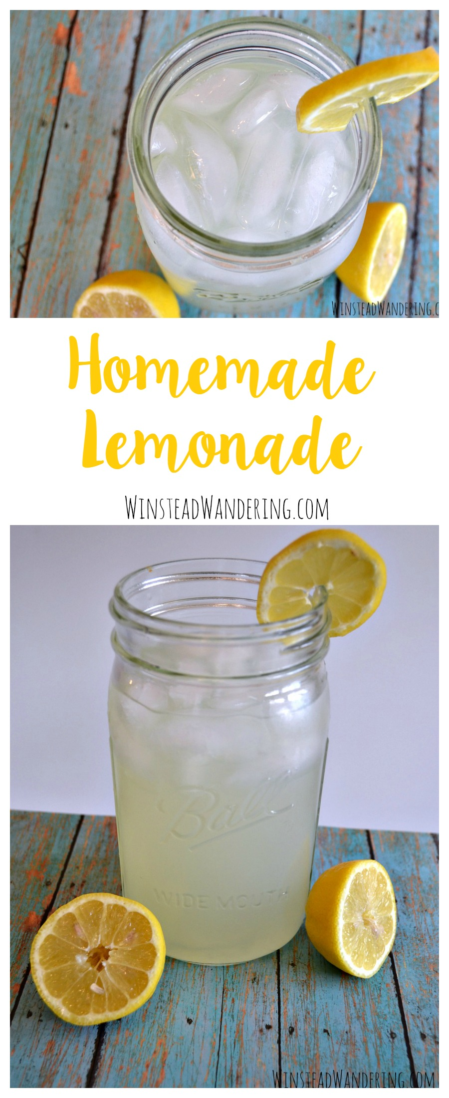 This summer, ditch the canned powder and make your own homemade lemonade. With just three simple ingredients, you can enjoy a refreshing glass any time.