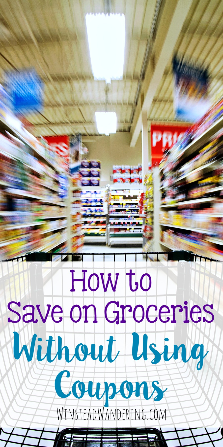 You don't have to spend hours scouring newspapers and the internet to save a few cents. Here's how to save on groceries without using coupons.