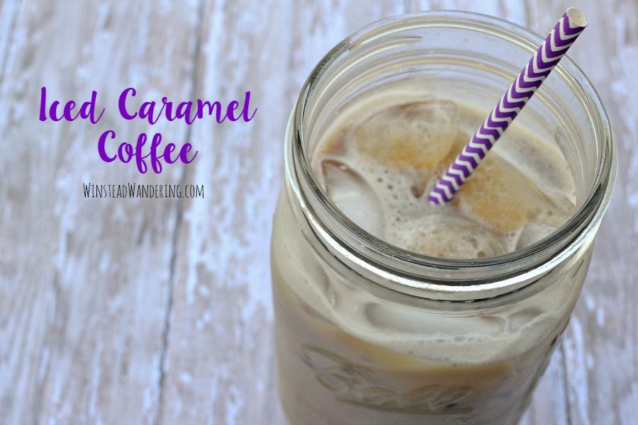 iced caramel coffee5