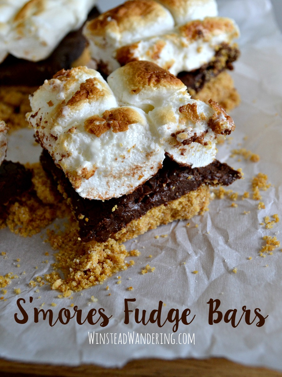 It doesn't get more rich or decadent than these s'mores fudge bars: a gooey layer of fudge sandwiched between graham cracker crust and toasted marshmallows.