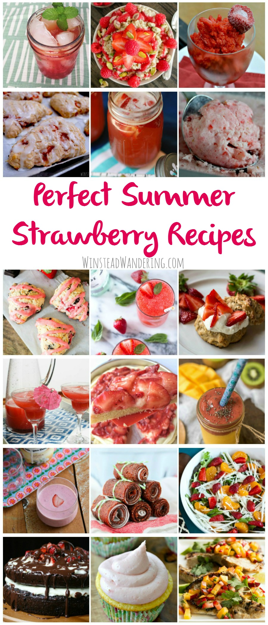 Forget Christmas- everyone knows strawberry season is the most wonderful time of year. Here are 33 perfect summer strawberry recipes to help you celebrate.