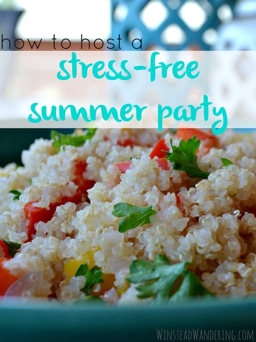 Summer gatherings don't have to be fancy, anxiety-filled affairs. Here's everything you need to know to host a stress-free summer party.