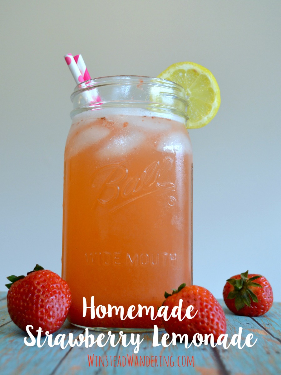 homemade strawberry lemonade3