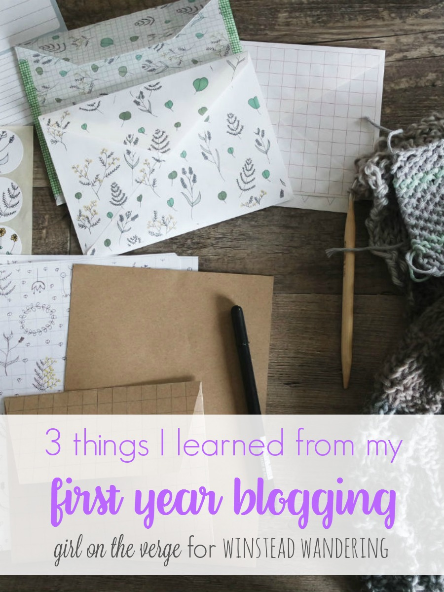 Blogging is hard, and there's a lot of conflicting advice out there. Here are 3 things I learned in my first year blogging.