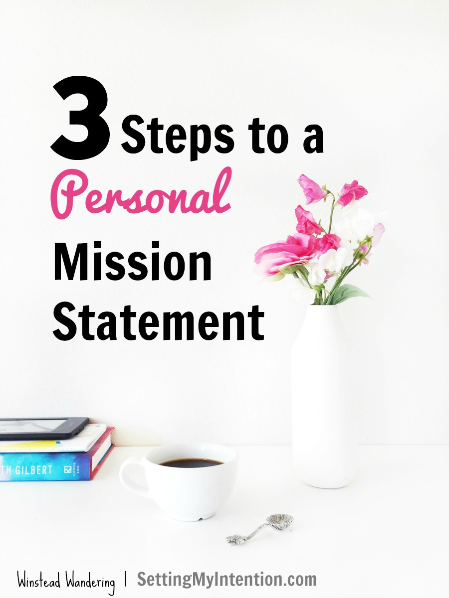Whether you're a mom, a blogger, a wife, or all or none of the above, you can ditch that overloaded to-do list and learn how to write a priority-based mission statement.