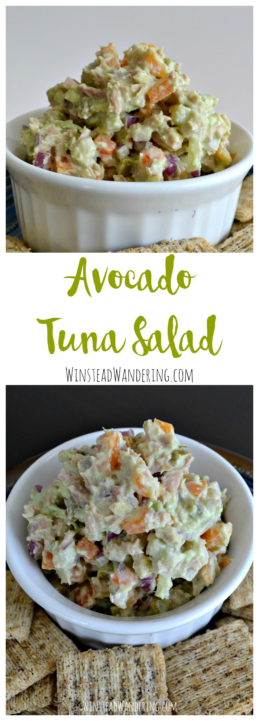 No mayo here. Hearty, healthy ingredients like Greek yogurt and sweet bell peppers will make this avocado tuna salad your new favorite lunch.