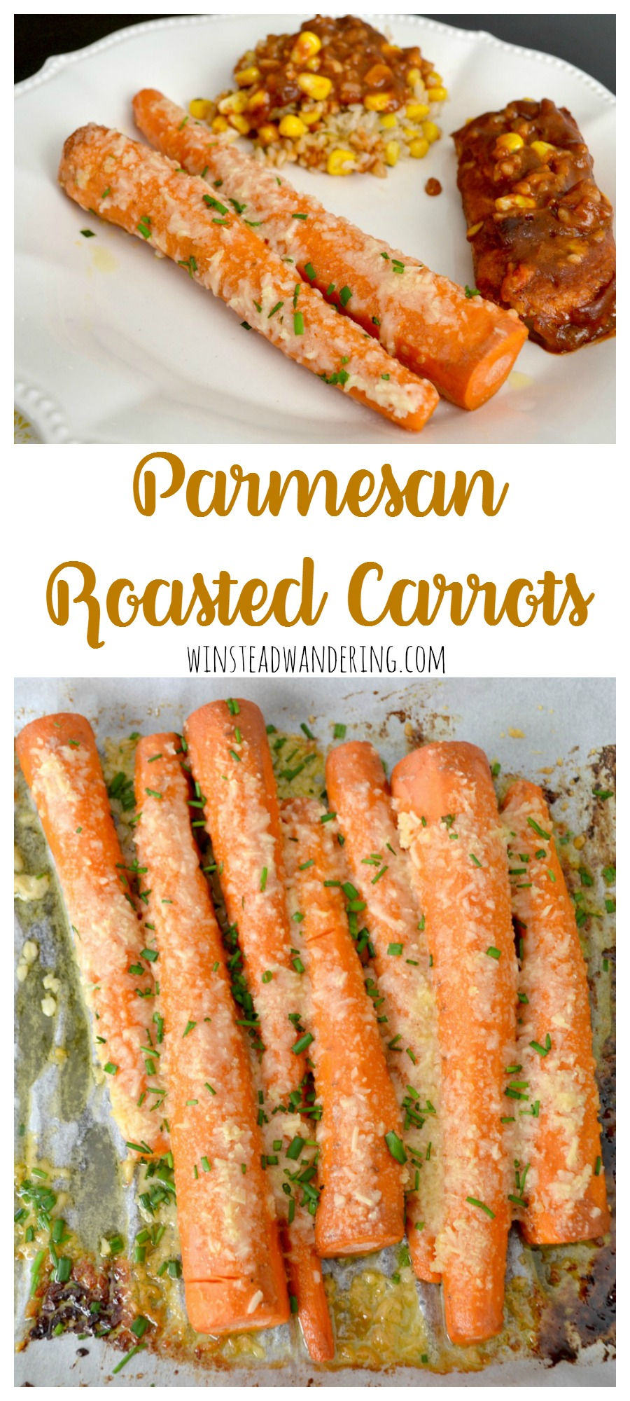 Whether you're making a fancy spread or a quick meal, Parmesan roasted carrots are the perfect easy and tasty side dish.