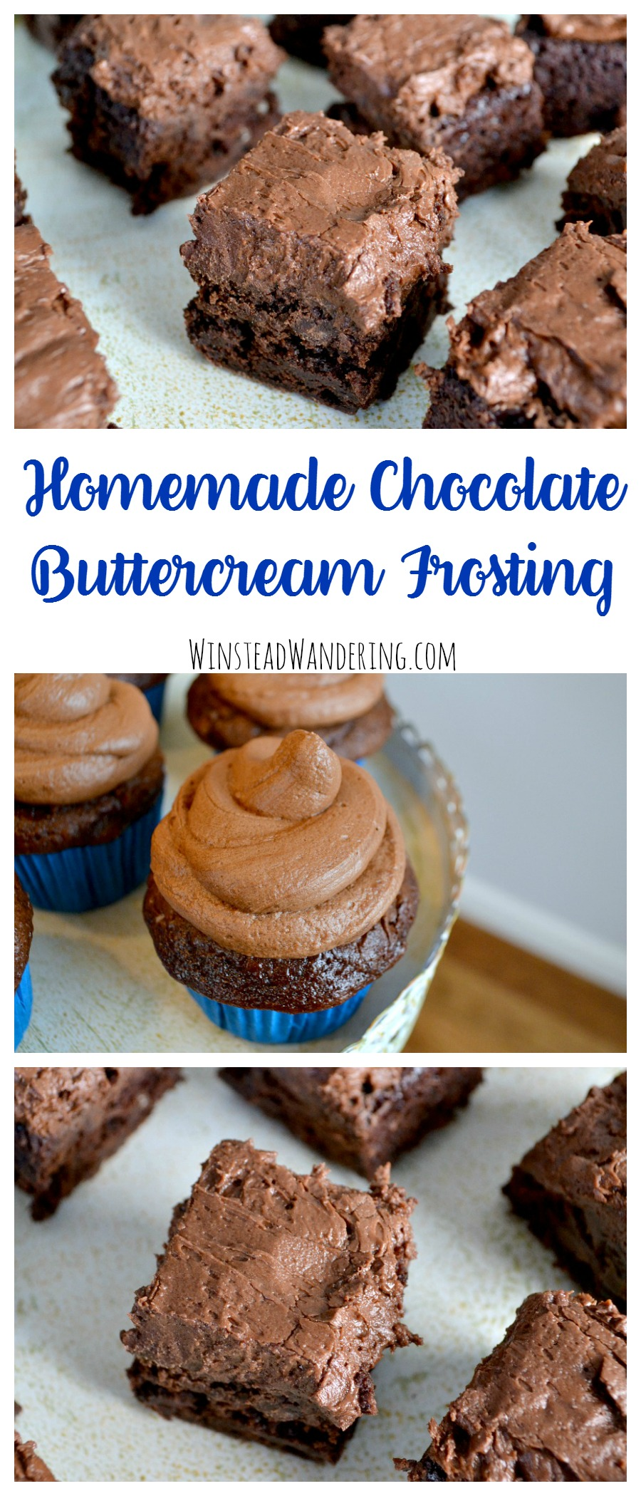Put the store-bought stuff down; homemade chocolate buttercream frosting is surprisingly easy and tastes 100 times better than those other options.