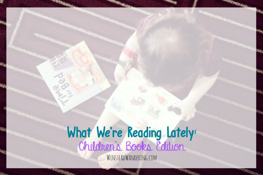 Finding books that appeal to kids and parents can be tough. We've done it, though! Here's what I'm reading lately: children's books edition.