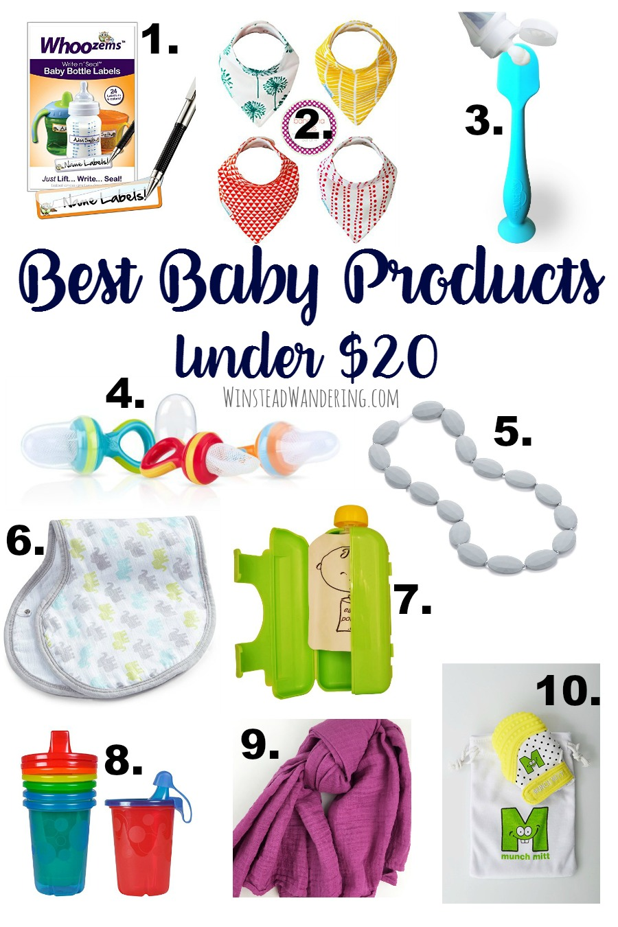These are seriously the best baby products under $20. They're all mom-tested and approved, and guaranteed to make this parenting thing a whole lot easier.