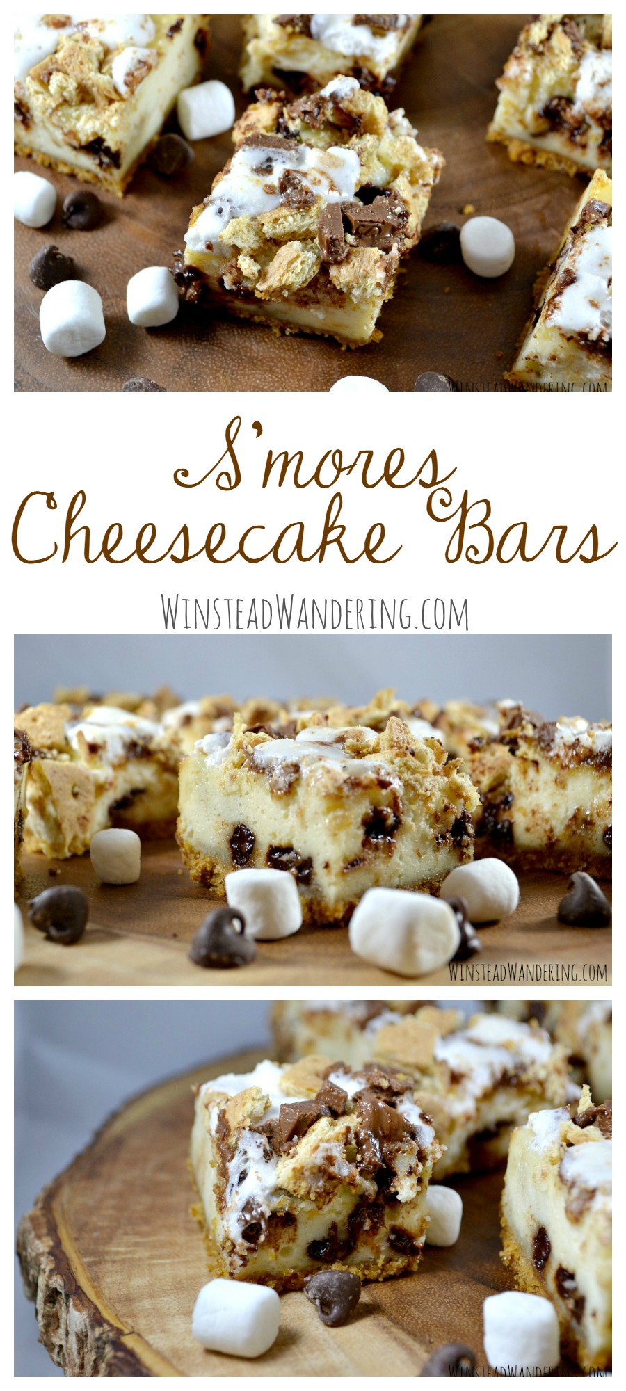 What happens when you combine the classic flavors of s'mores with rich cheesecake? You get these creamy, dreamy S'mores Cheesecake Bars.