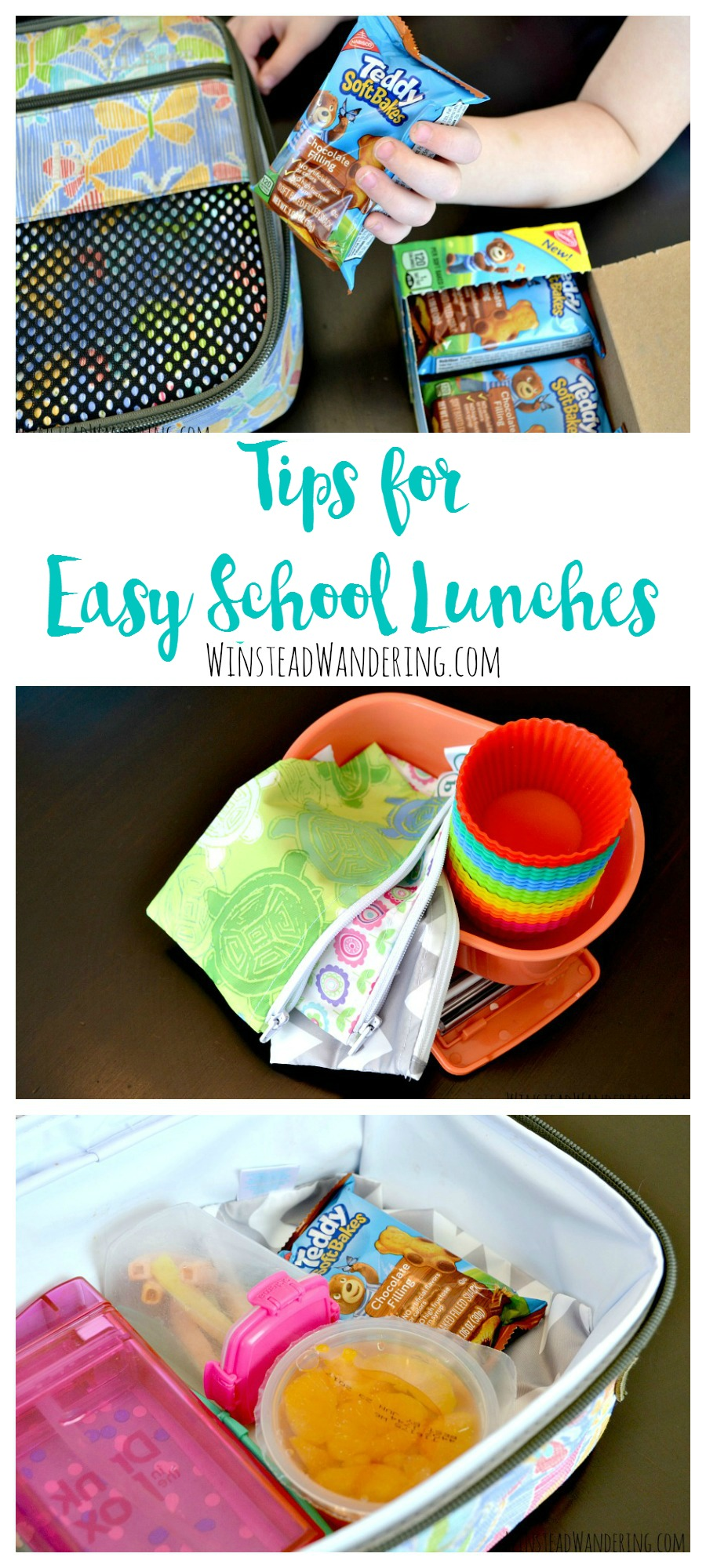Does packing your kids' lunches fill you with dread? It doesn't have to! Check out these tips for easy school lunches.