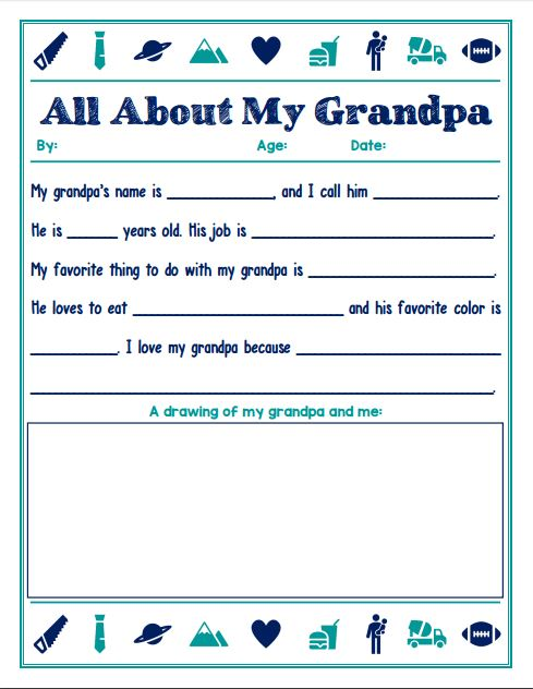 This free Father's Day Printable is the perfect substitute to a boring store-bought card. Record and commemorate the hilarious memories for years to come.