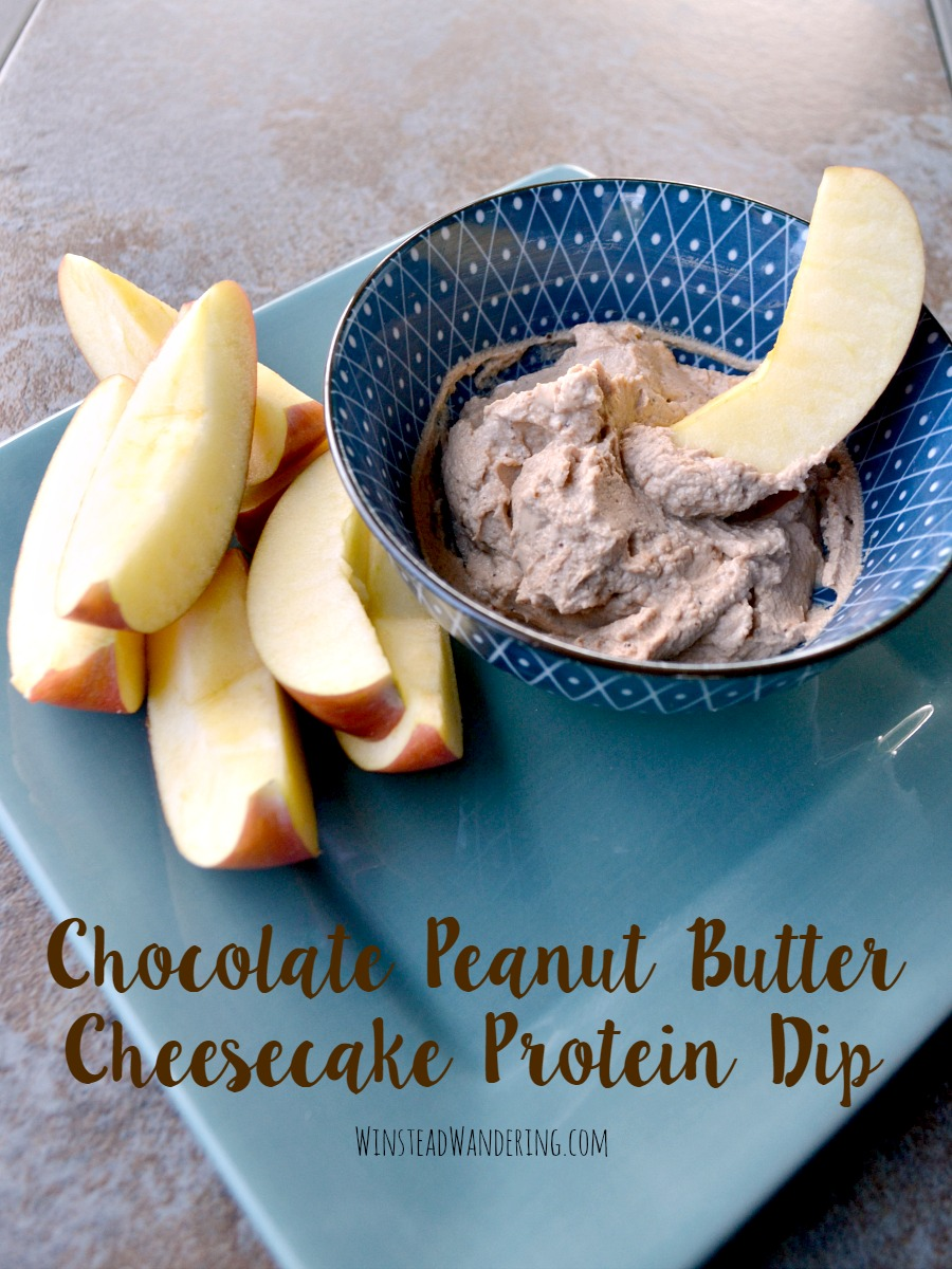 A healthy two ingredient snack that tastes like a sinful dessert? Yup! This Chocolate Peanut Butter Cheesecake Protein Dip is as good for you as it is delicious.