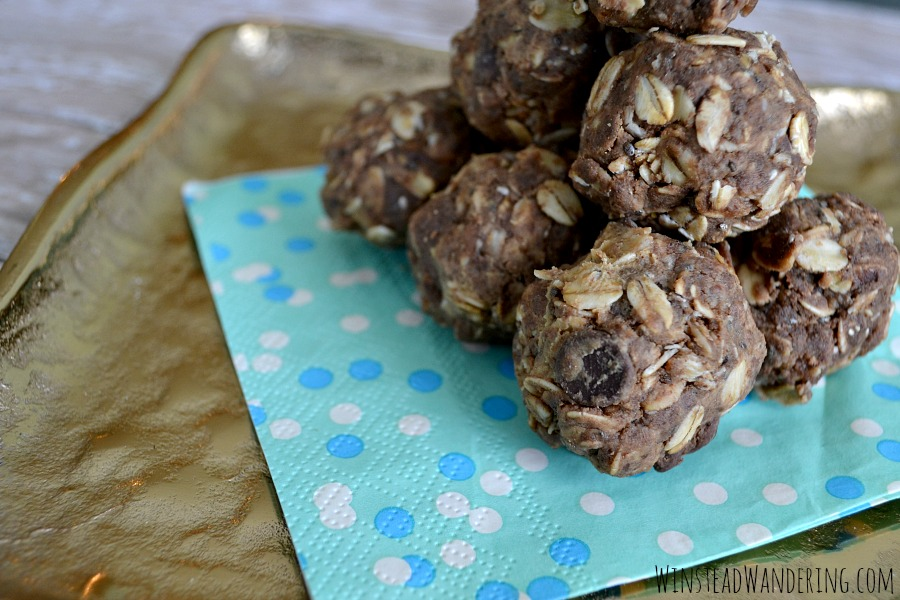 With just the right amount of good-for-you sweetness, Double Chocolate No-Bake Cookie Protein Bites are the perfect healthy treat for breakfast or for on-the-go snacking.