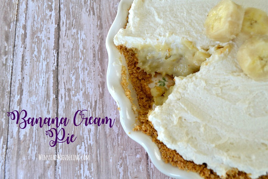 Sweet, creamy, and full of flavor: this Homemade Banana Cream Pie is everything you want the classic dessert to be, and it's surprisingly easy to make at home!