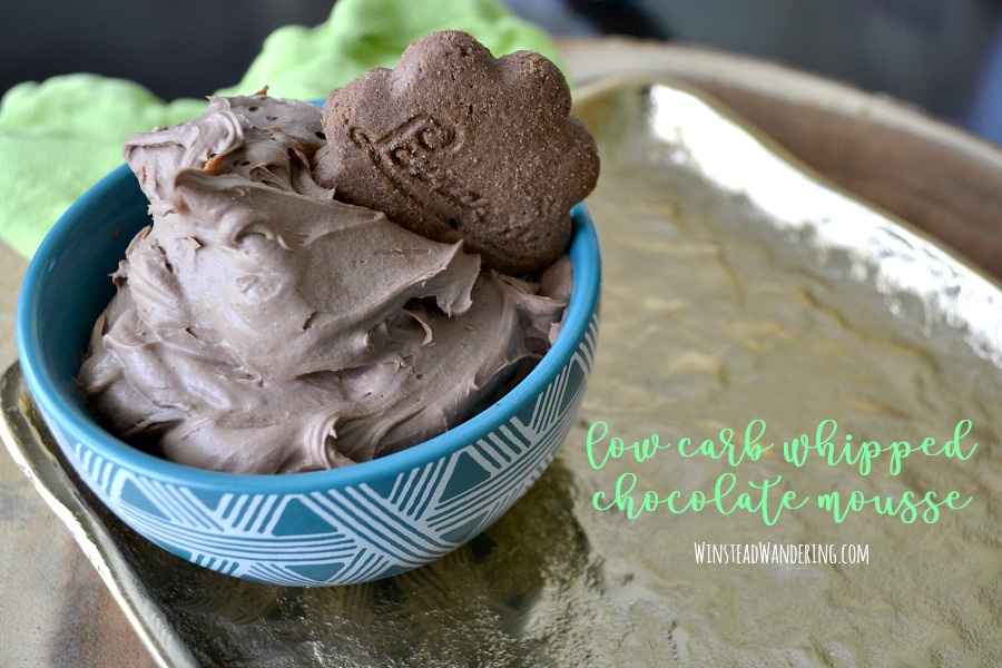 With just two ingredients, this Low Carb Whipped Chocolate Mousse is the perfect treat to satisfy your sweet tooth without ruining all your hard work.