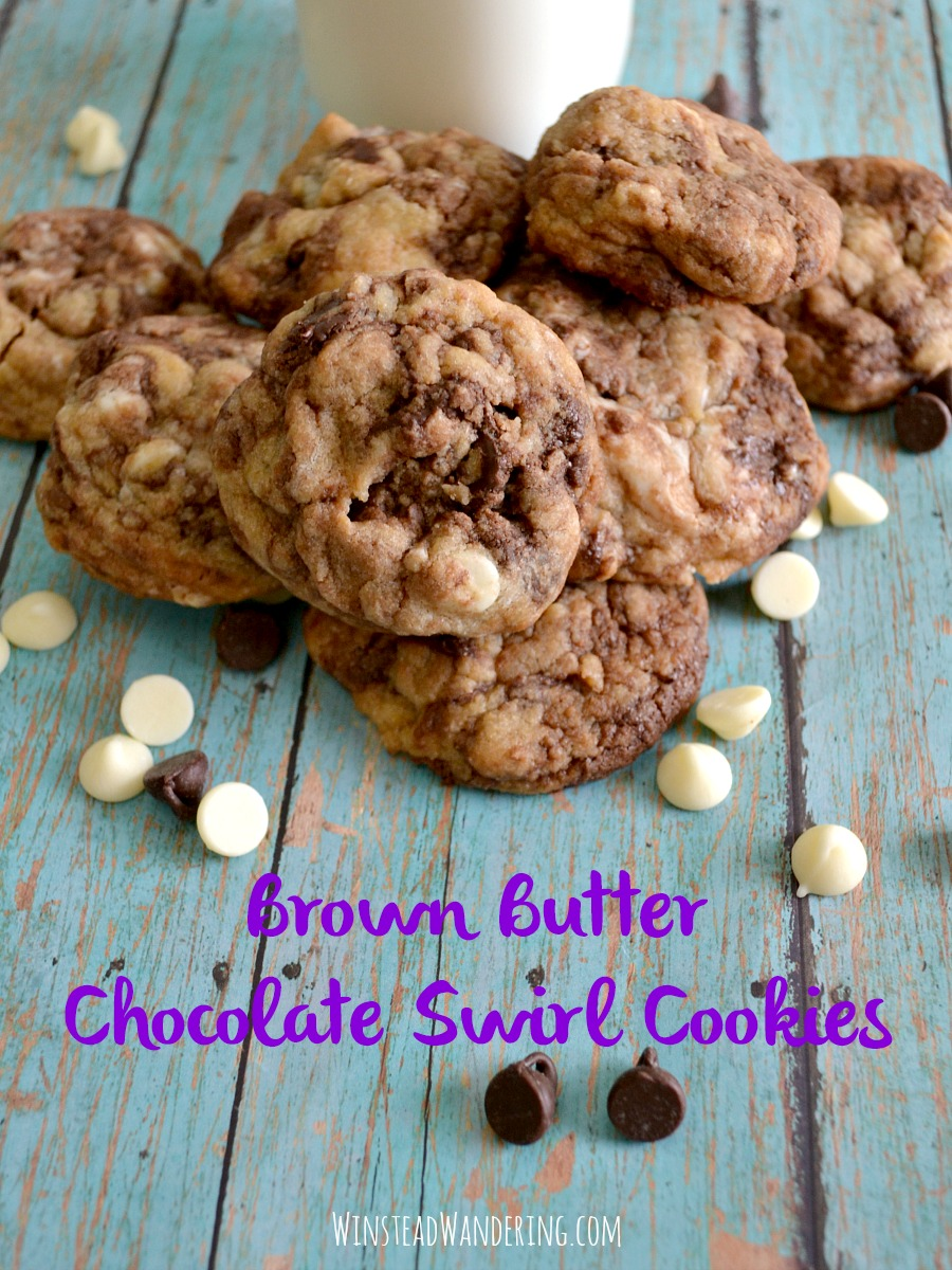 Not only are these Brown Butter Chocolate Swirl Cookies a unique and delectable twist on a classic dessert, they're also prepared on the stove in just one pan!