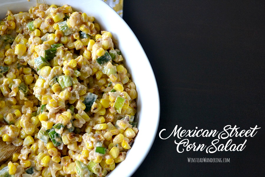 With sweet and smoky charred corn, cool sour cream and citrus, and the perfect notes of spice, this Mexican Street Corn Salad will be a year-round hit at your house!