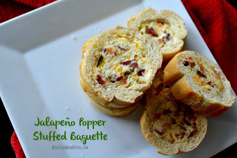 When it comes to cheesy, spicy, crowd-pleasing, freezer-friendly appetizers, it doesn't get more perfect than this Jalapeño Popper Stuffed Baguette.