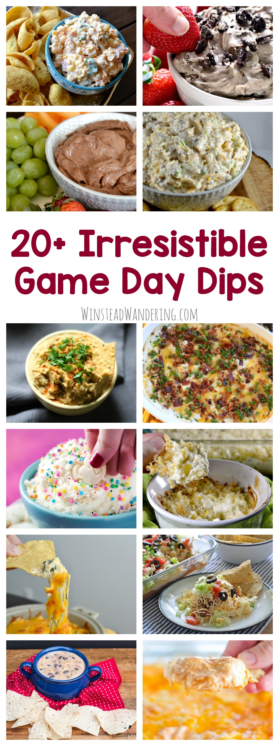Kick back with friends and family, put the big game on TV, and enjoy one - or a bunch - of these irresistible game day dip recipes.